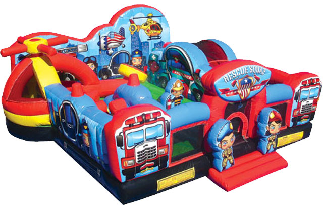 Inflatables for the younger kids to play, bounce, and jump on. Great play-date activitiy for the toddlers in your family.