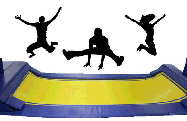 Fun on Trampolines at Indoor Family Fun Center, Birthday Parties