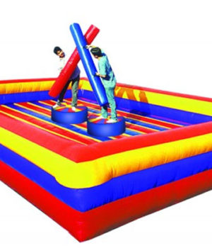 Battle Joust Attraction, Active Play, Try and knock each other off the podium