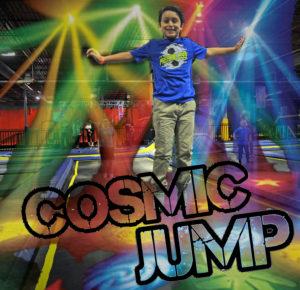 Cosmic Jump, Trampolines, Black Lights, Kids activity, Indoors, Play center