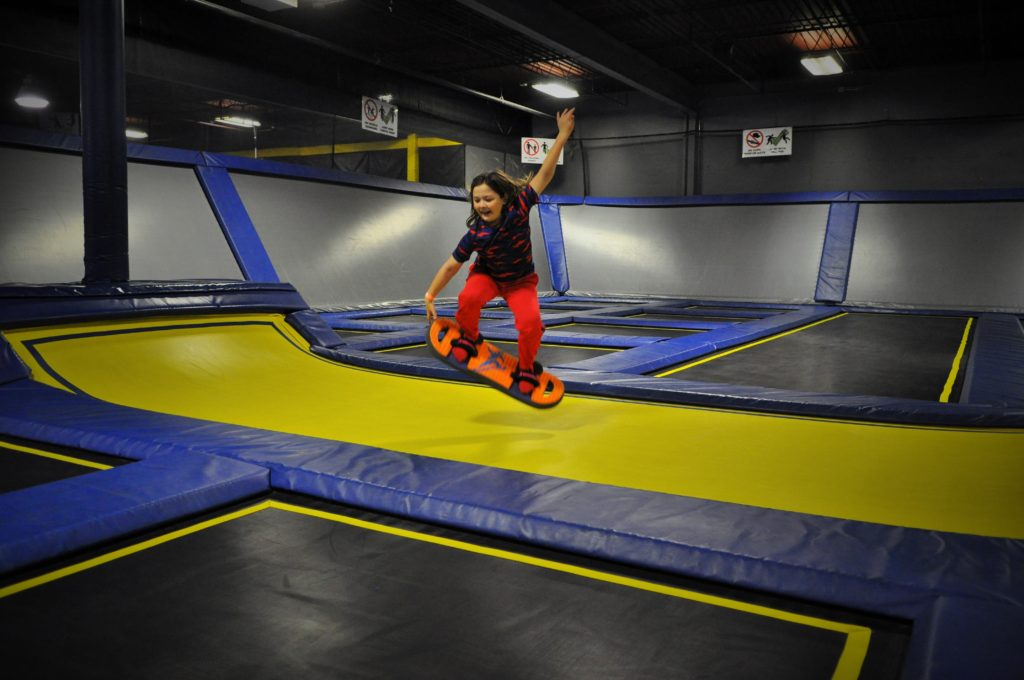 Main Trampoline, Safety and Waiver help your family get jumping quicker