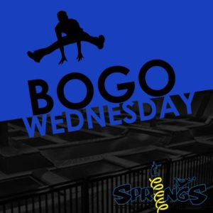 BOGO WEDNESDAY