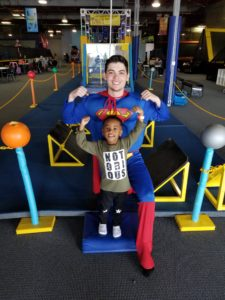 Toddler Time with SuperMan