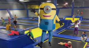 Minion visit Toddler Time Special @ Springs Adventure Park