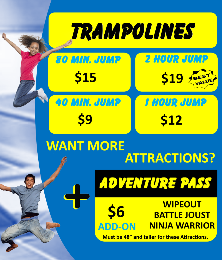 Springs Adventure Park New Rates for 2019, Indoor Family Fun Center