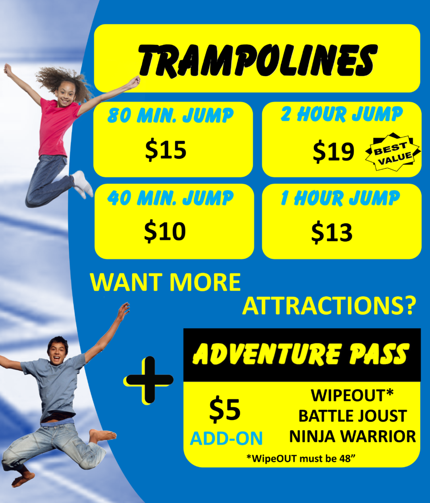 Rates for Springs Adventure Park, Colorado Springs, CO 80910